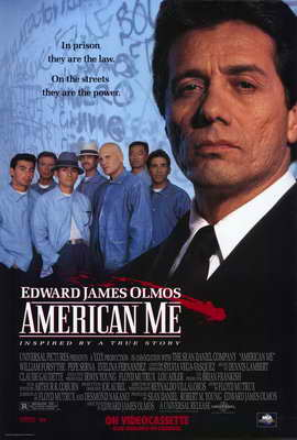 American Me - 27 x 40 Movie Poster - Style B