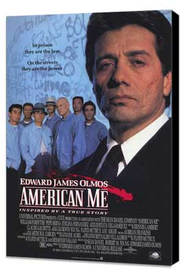 American Me - 27 x 40 Movie Poster - Style A - Museum Wrapped Canvas