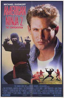 American Ninja 2: The Confrontation - 11 x 17 Movie Poster - Style B