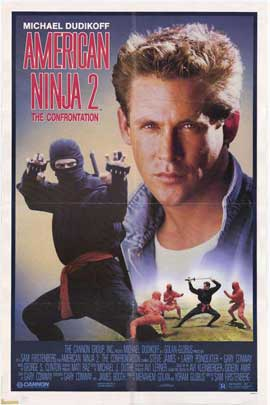 American Ninja 2: The Confrontation - 27 x 40 Movie Poster - Style B