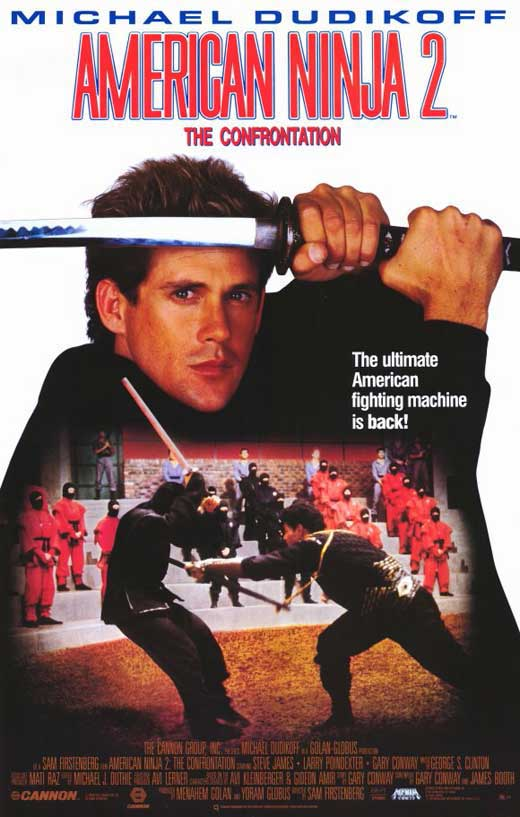 American Ninja 2 The Confrontation Movie Posters From