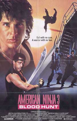 American Ninja 3: Blood Hunt - 11 x 17 Movie Poster - Style A