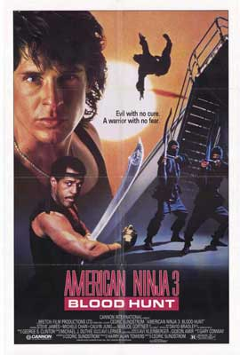 American Ninja 3: Blood Hunt - 27 x 40 Movie Poster - Style A