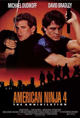 American Ninja 4: The Annihilation - 27 x 40 Movie Poster - Style A