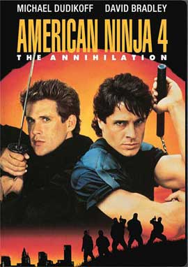 American Ninja 4: The Annihilation - 27 x 40 Movie Poster - Style B