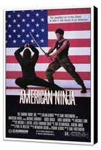 American Ninja - 27 x 40 Movie Poster - Style A - Museum Wrapped Canvas