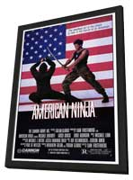 American Ninja - 11 x 17 Movie Poster - Style A - in Deluxe Wood Frame