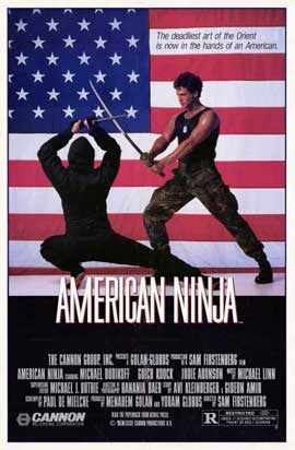 American Ninja - 11 x 17 Movie Poster - Style A