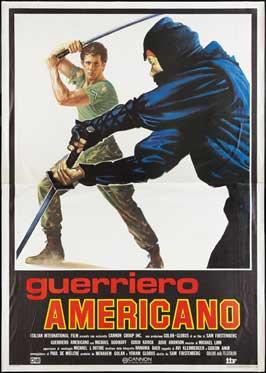 American Ninja - 11 x 17 Movie Poster - Italian Style A