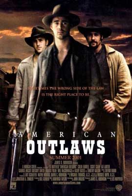 American Outlaws - 27 x 40 Movie Poster - Style B