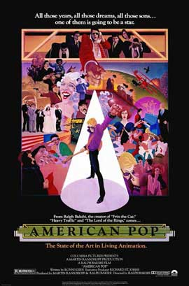 American Pop - 11 x 17 Movie Poster - Style A