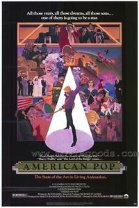 American Pop - 43 x 62 Movie Poster - Bus Shelter Style A