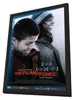 American Promise - 11 x 17 Movie Poster - Style A - in Deluxe Wood Frame