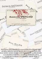 American Psycho - 11 x 17 Movie Poster - Style G
