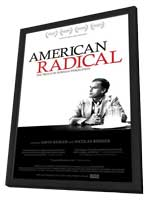 American Radical: The Trials of Norman Finkelstein - 11 x 17 Movie Poster - Style A - in Deluxe Wood Frame