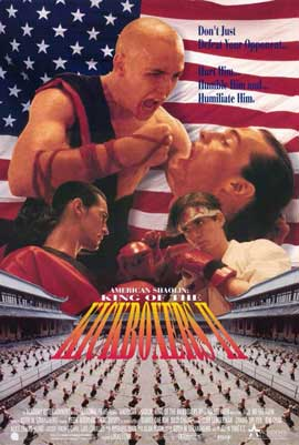 American Shaolin: King of the Kickboxers II - 11 x 17 Movie Poster - Style A