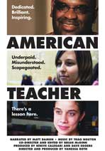 American Teacher - 43 x 62 Movie Poster - Bus Shelter Style A