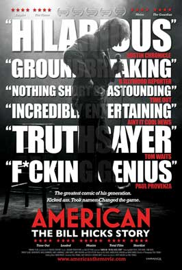 American: The Bill Hicks Story - 43 x 62 Movie Poster - Bus Shelter Style A