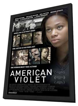 American Violet - 11 x 17 Movie Poster - Style A - in Deluxe Wood Frame