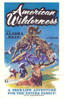 American Wilderness - 11 x 17 Movie Poster - Style A