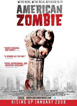 American Zombie - 27 x 40 Movie Poster - Style A