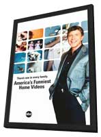 America's Funniest Home Videos - 11 x 17 TV Poster - Style A - in Deluxe Wood Frame