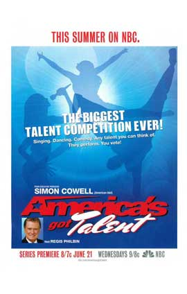 America's Got Talent - 11 x 17 TV Poster - Style A