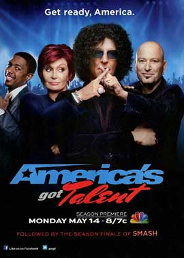 America's Got Talent - 11 x 17 TV Poster - Style B