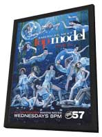 America's Next Top Model - 27 x 40 TV Poster - Style A - in Deluxe Wood Frame