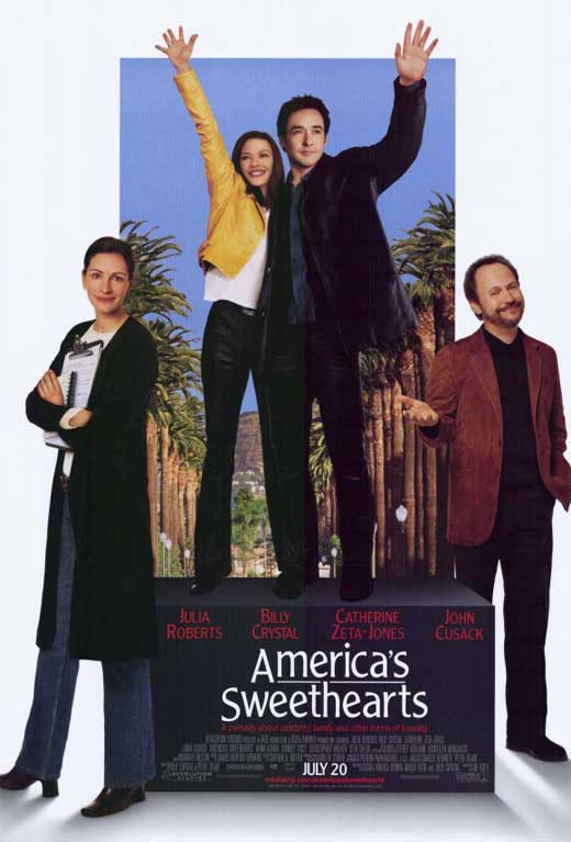 America's Sweethearts Movie Posters From Movie Poster Shop