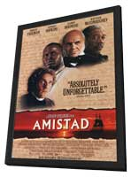 Amistad - 11 x 17 Movie Poster - Style A - in Deluxe Wood Frame