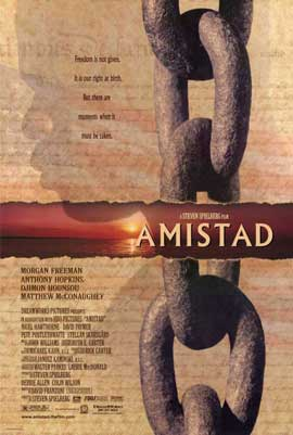 Amistad - 11 x 17 Movie Poster - Style B