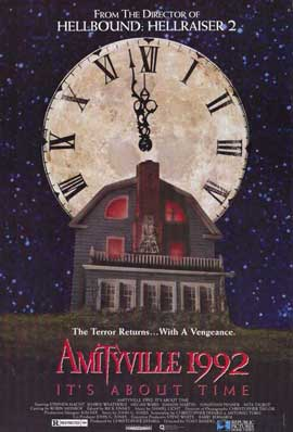 Amityville 1992: It's About Time - 11 x 17 Movie Poster - Style A