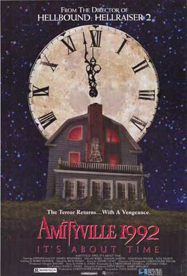 Amityville 1992: It's About Time - 27 x 40 Movie Poster - Style A