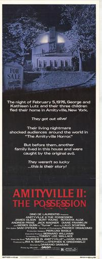 Amityville 2: The Possession - 14 x 36 Movie Poster - Insert Style A