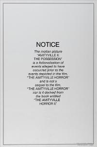 Amityville 2: The Possession - 11 x 17 Movie Poster - Style B