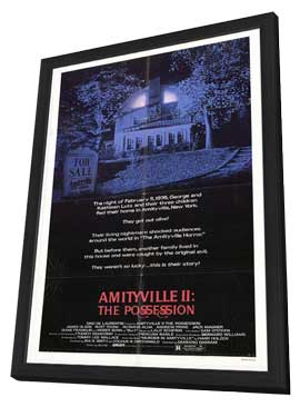 Amityville 2: The Possession - 27 x 40 Movie Poster - Style A - in Deluxe Wood Frame