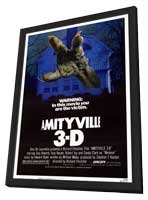 Amityville 3: The Demon - 11 x 17 Movie Poster - Style A - in Deluxe Wood Frame