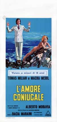 Amore coniugale, L' - 13 x 28 Movie Poster - Italian Style A