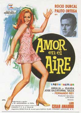Amorenelaire - 11 x 17 Movie Poster - Spanish Style A