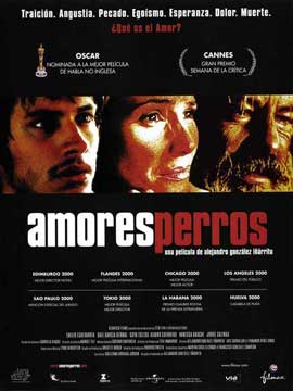 Amores Perros - 11 x 17 Movie Poster - Spanish Style D