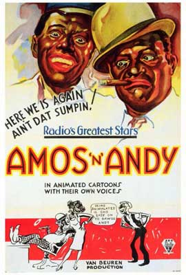 Amos 'N' Andy Cartoons - 27 x 40 Movie Poster - Style A