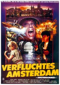 Amsterdamned - 11 x 17 Movie Poster - German Style A