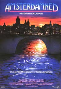 Amsterdamned - 11 x 17 Movie Poster - Spanish Style A