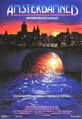 Amsterdamned - 27 x 40 Movie Poster - Spanish Style A