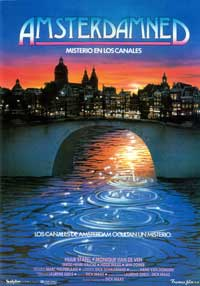 Amsterdamned - 43 x 62 Movie Poster - Spanish Style A