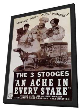 An Ache in Every Stake - 11 x 17 Movie Poster - Style A - in Deluxe Wood Frame