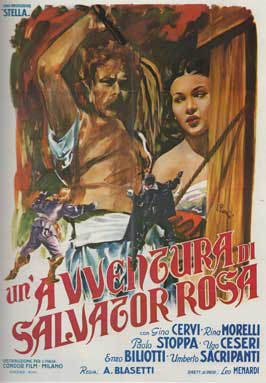An Adventure of Salvator Rosa - 11 x 17 Movie Poster - Italian Style A