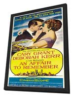 An Affair to Remember - 11 x 17 Movie Poster - Style C - in Deluxe Wood Frame