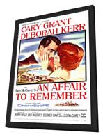 An Affair to Remember - 27 x 40 Movie Poster - Style A - in Deluxe Wood Frame
